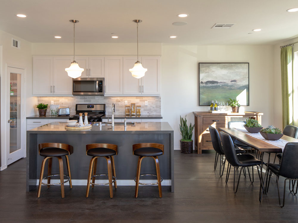 Portola Walk Plan 5 Kitchen