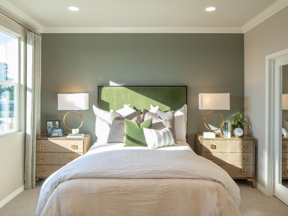Portola Walk Plan 5 Master Bed