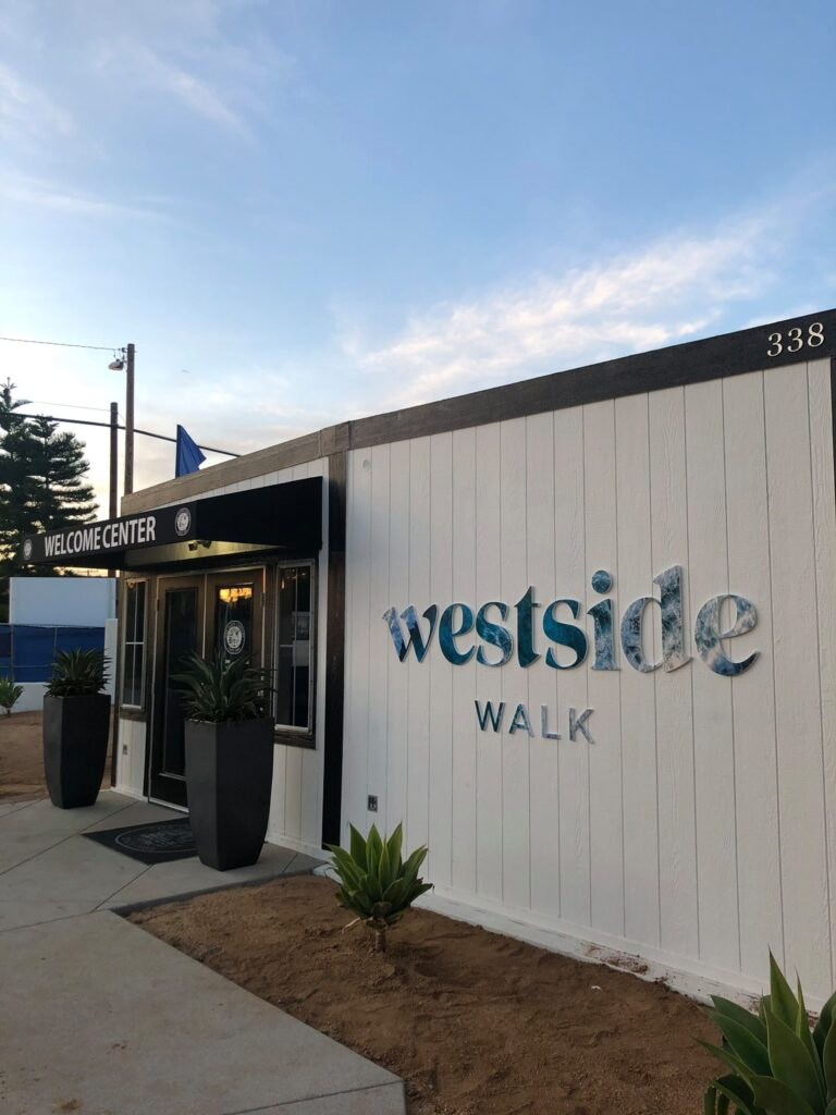 Westside Walk Welcome Center