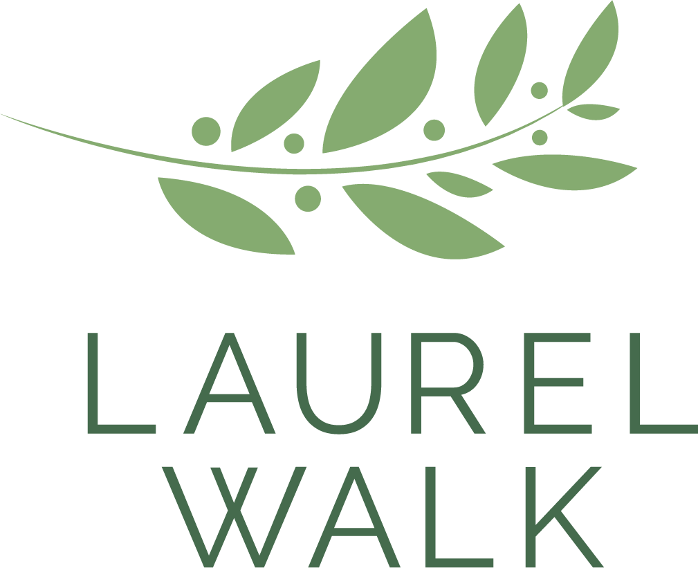 Laurel Walk Logo Green