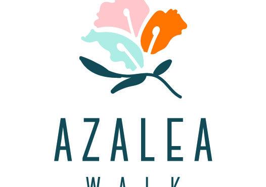 Azalea Walk Logo Cmyk